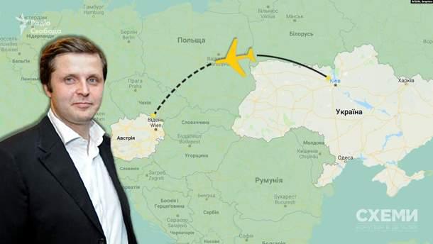 """Кум Медведчуков из """"Слуги народа"""" более 200 дней в течение года не был в Украине"""