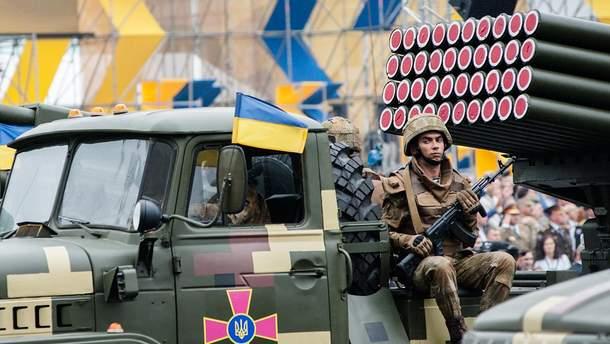 Парад в День Независимости в Киеве