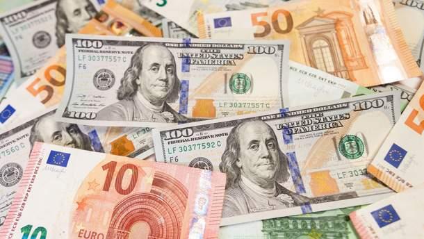 Готівковий курс валют – курс долара та євро на 10 липня 2019
