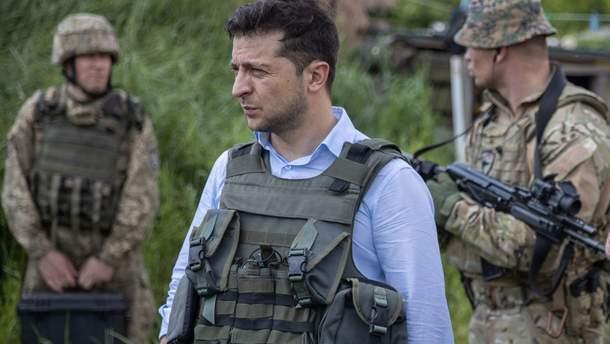 Володимир Зеленський засудив обстріли окупантів на Донбасі
