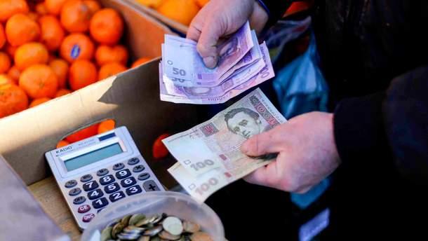 Инфляция в Украине замедлилась, но все еще значительна