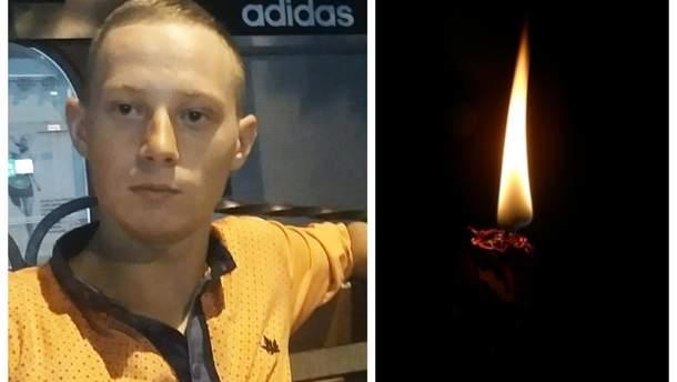 Погибший под Гранитным военный Антон Фака