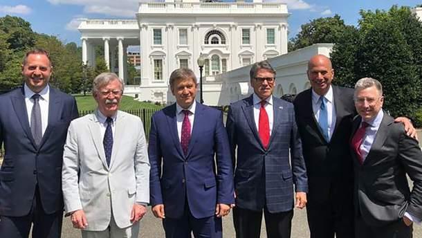 Данилюк зустрівся з вищим керівництвом США