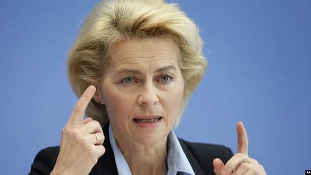 Германия выступила за жесткий диалог с Россией