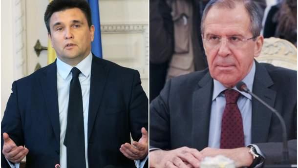 Климкин рассказал, что дважды встречался с Лавровым