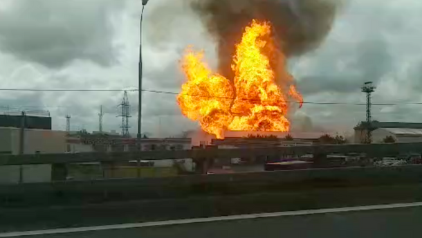 Пожар на ТЭЦ