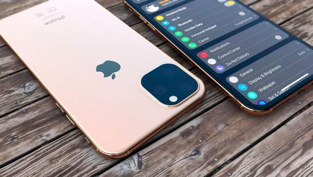 Так может выглядеть  iPhone 2019