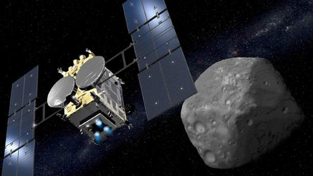 Астероїд Рюгу – фото з астероїда Рюгу