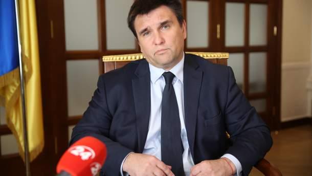 Климкин ответил словами из песни на отказ Рады его уволить