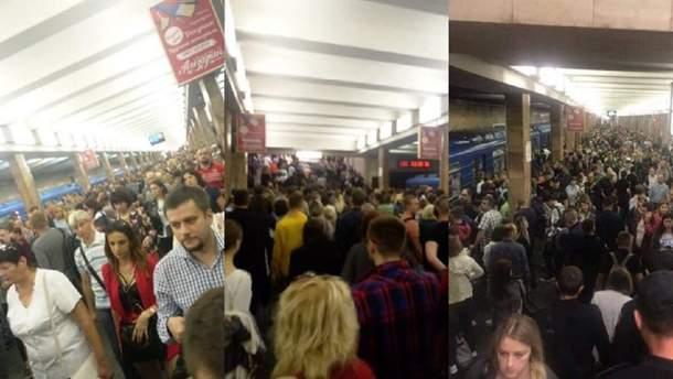 Смерть в метро в Києві 12 липня 2019 – закрили багато станцій