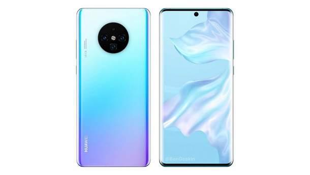Ймовірний дизайн Huawei Mate 30