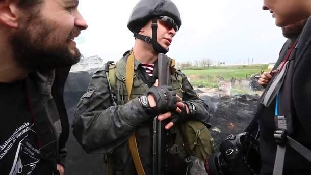 Відео із нацгвардійцем Марківим та італійськими журналістами
