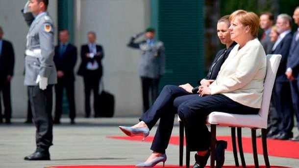 Меркель тричі стало погано за останній місяць