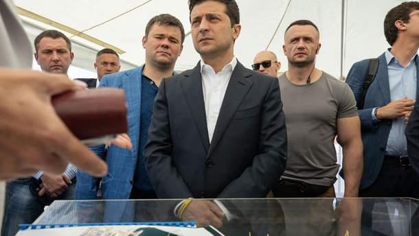 Зеленский посетил Одессу с рабочим визитом