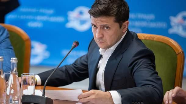 Зеленський вперше поїхав на межу з Кримом
