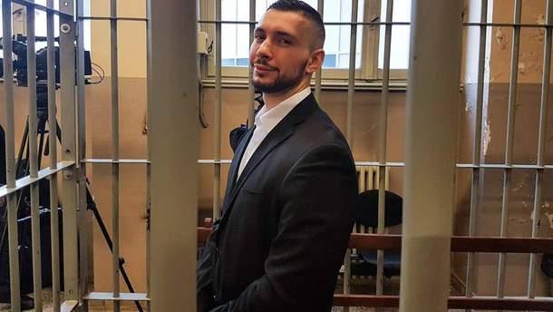Виталий Марков, осужденный в Италии украинский военный