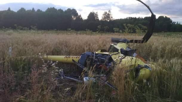 В России в результате падения вертолета погиб Игорь Никитин, которые ранее учил Путина летать