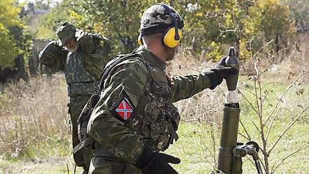 Боевики стреляли из минометов запрещенного калибра на Донбассе