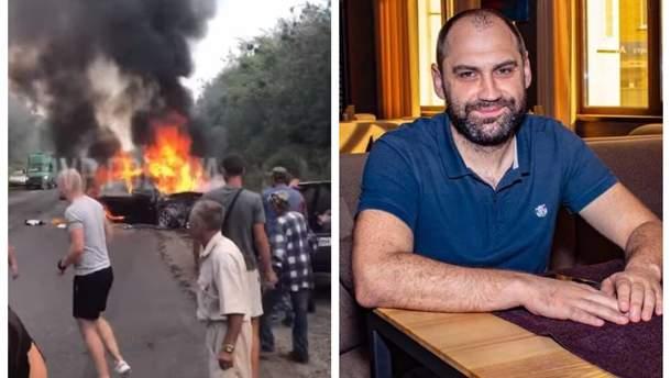 Аварія під Полтавою та Олексій Сердюков