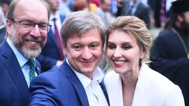 Елена Зеленская в Киеве