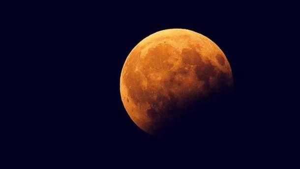 Лунное затмение 17 июля 2019: где и когда будет видно