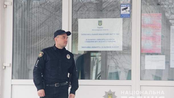 Полиция переходит на усиленный режим службы до выборов