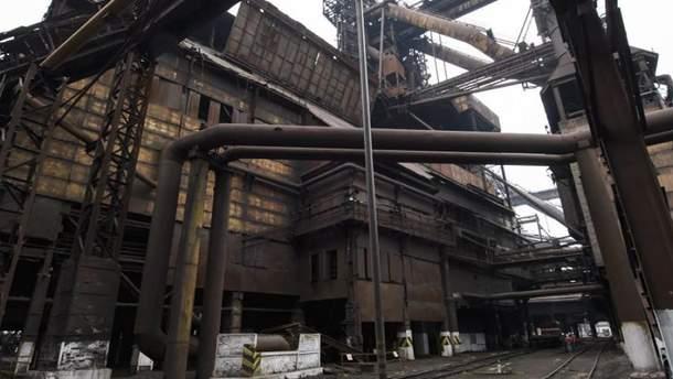 На заводе Ахметова произошла масштабная авария
