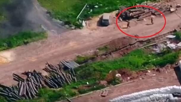 Українські бійці неабияк налякали бойовиків: дивіться відео