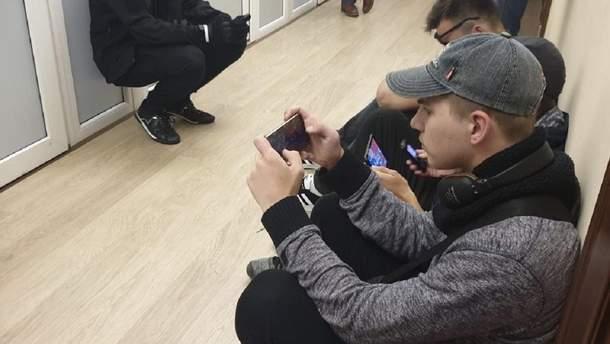"""Сторонники """"Европейской солидарности"""" ворвались в здание ГБР"""