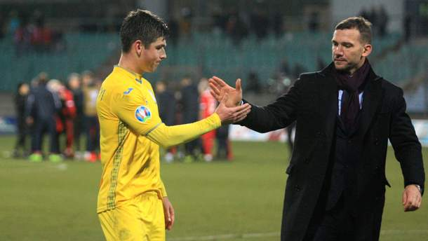 Руслан Малиновский и Андрей Шевченко