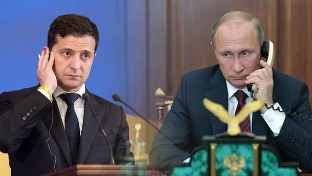 Первый раунд: Путин – Зеленский – 1:0
