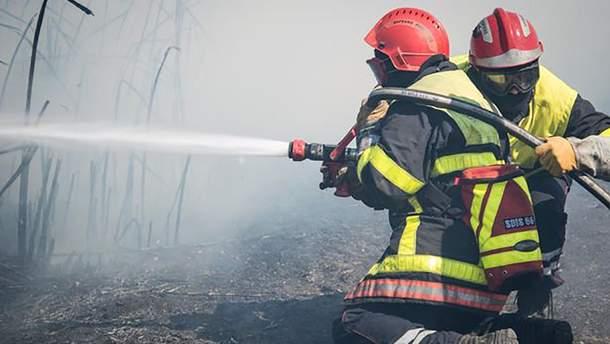 Масштабные пожары во Франции