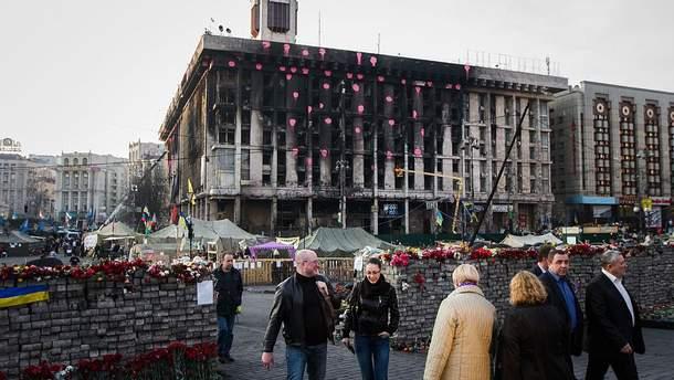 У згорілому під час Майдану Будинку профспілок відкривають бізнес-центр