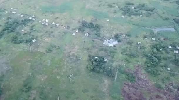 Бойцы ВСУ уничтожили позицию боевиков возле Горловки
