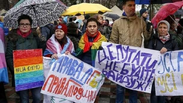Під час виборів партії оминають питання ЛГБТ
