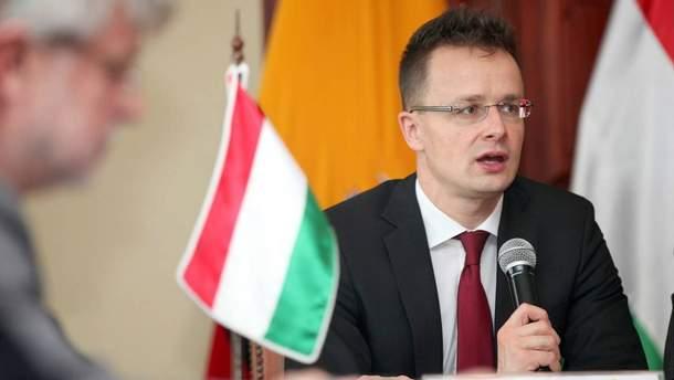 Сійярто назвав умови за яких Угорщина розблокує переговори між Україною та НАТО