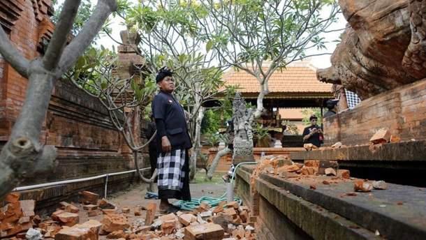Бали всколыхнуло землетрясение