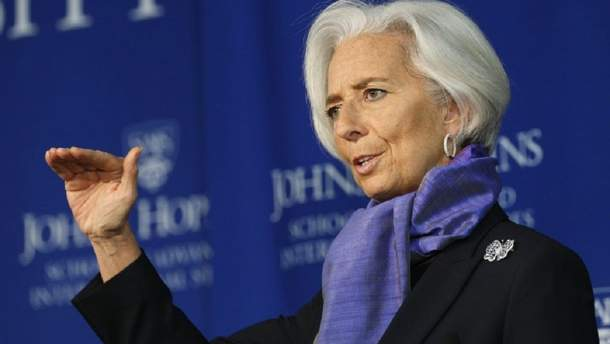 Крістін Лагард подає у відставку з посади очільниці МВФ