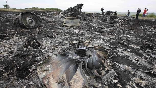 Обломки Boeing -777