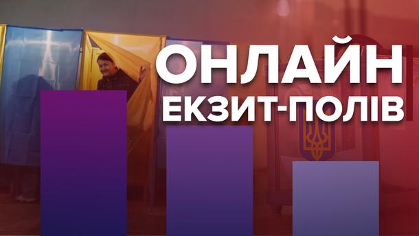 Екзит-пол 2019 Україна – дивитися онлайн результати голосування - трансляція