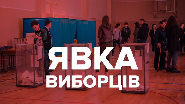 Явка виборців 21 липня 2019 – парламентські вибориУкраїни 2019