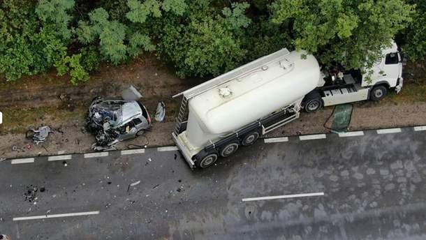 Українець загинув у ДТП в Польщі
