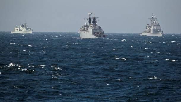 Кораблі у Чорному морі