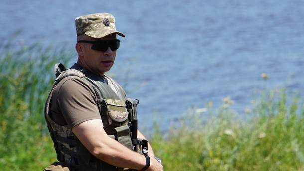 Командующий ООС Сырский назвал самое горячее направление на Донбассе