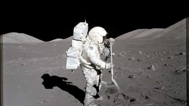 Фото из миссии Apollo 17