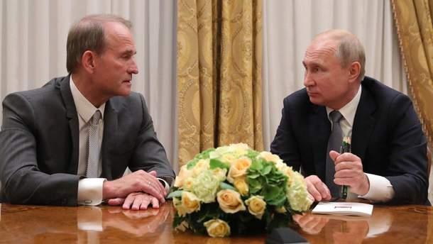 Медведчук встретился с Путиным
