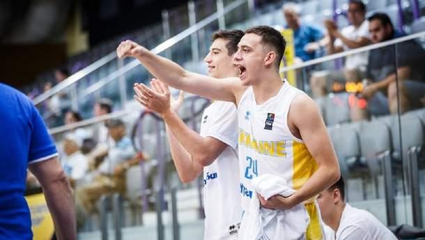 Збірна України U-20 зберегла місце в Дивізіоні А
