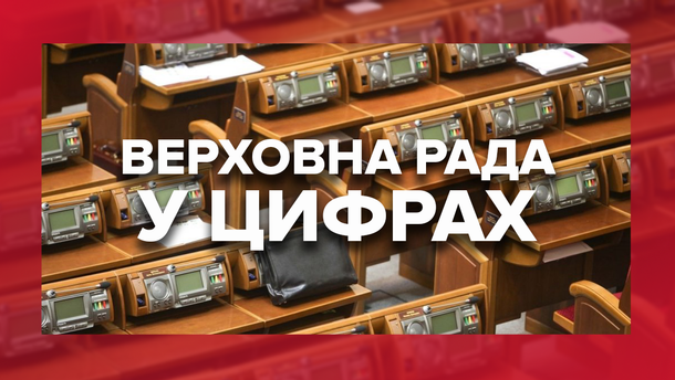 Верховная Рада в цифрах: кто, как и за сколько работал в парламенте