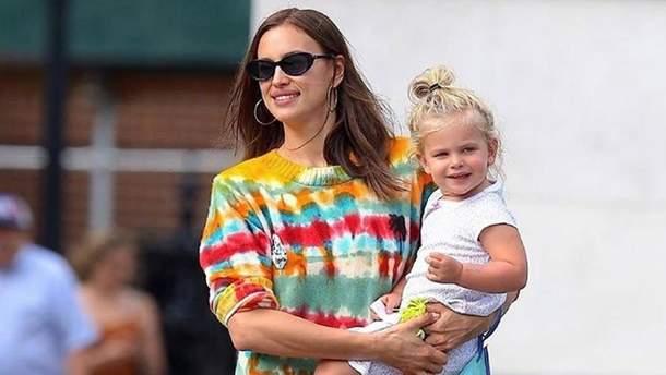 Ірина Шейк з донькою Леєю
