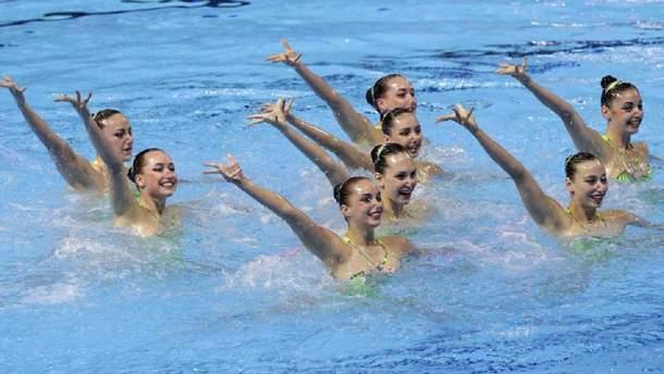 Сборная Украины по синхронному плаванию